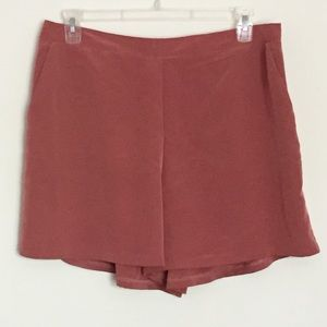 Gibson & Latimer terra cotta shorts w pockets XL